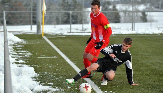 SV Gündelwangen Spiel im Schnee