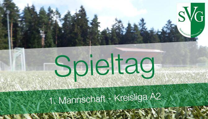 Spieltag 1. Mannschaft SV Gündelwangen